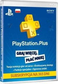 Sony Computer Entertainment PlayStation Plus abonament na 365 dni