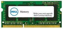 Dell Moduł pamięci do wybranych systemów -4GB DDR3-1600 SODIMM 1RX8 Non-ECC A69