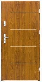 Splendoor Drzwi zewnętrzne  Elegance 80 prawe złoty dąb