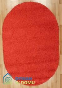 Tinge Shaggy czerwony 200x290 Owal