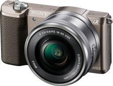 Sony ILCE-5100LT + 16-50 kit brązowy