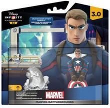 Disney SOFTWARE Zestaw figurek Infinity 3.0 Marvel Marvel Battlegrounds + Kapitan Ameryka