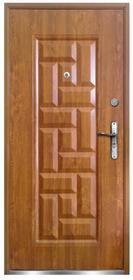 O.K. Doors Drzwi zewnętrzne stalowe Nata 90 lewe złoty dąb
