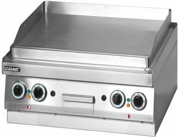Lozamet Grill płytowy elektryczny (płyta podwójna gładka) (linia 650) LEB.630