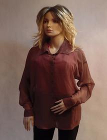 MaximoModa Tradycyjna bluzka koszulowa XL BL0025