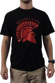 T-shirt T-shirt Spartan - Molon Labe (czarna)
