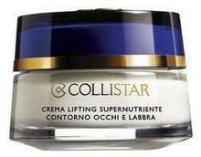 Collistar Crema Lifting Supernutriente Contorno Occhi e Labbra super odzywczy krem liftingujacy okolice oczu i ust 15ml