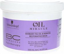 Schwarzkopf BC Oil Miracle Barbary Fig Oil Keratin Restorative Mask - Maska odbudowująca do włosów, 500ml