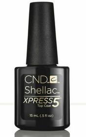 CND Shellac Xpress5 Top Coat UV Big 15 Ml