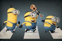 Minionki Abbey Road Plakat