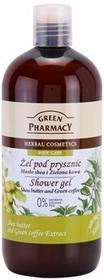 Green Pharmacy Body Care Shea Butter & Green Coffee żel pod prysznic 0% Parabens