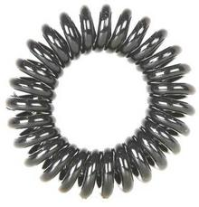 Fox gumki Spring Hair Ring Czarne 3szt. - Gumki do włosów Spring H