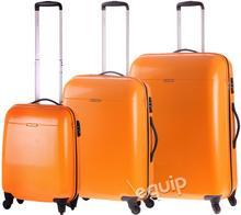 Puccini zestaw walizek PC 005 - pomnarańczowy