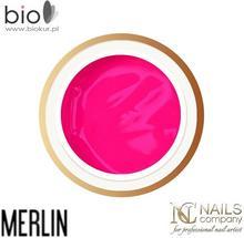 Nails Company ARTISTIC PAINT GEL - MERLIN (neonowy fiolet) - - 5 g