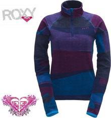 Roxy Night Fall Half Zip Printed