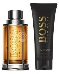 Hugo Boss SET The Scent M) edt 100ml + sg 100ml