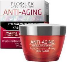 Flos-Lek Anti Aging Kuracja Hialuronowa Krem przeciwzmarszczkowy na noc 50ml