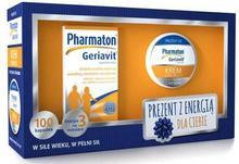 Pharmaton Geriavit 100 Kapsułek + Krem