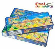 Cool Rainbow Loom. Tęczowe bransoletki - zestaw do robienia bransoletek z gumecz
