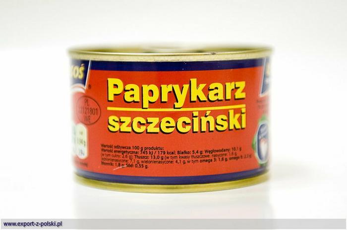 Łosoś Paprykarz szczeciński 170g ŁOSOŚ