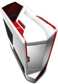 NZXT Phantom - White with Red Stripes
