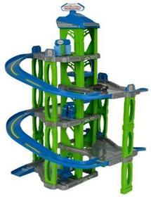 Majorette Garaż 5-poziomowy z autkiem 73 cm Zielono-niebieski SUPER PROMOCJA RABAT 17% 3467452040607