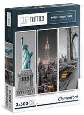 Clementoni Puzzle Trittico New York 3x500
