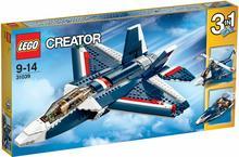 LEGO Creator Niebieski mocny odrzutowiec 31039