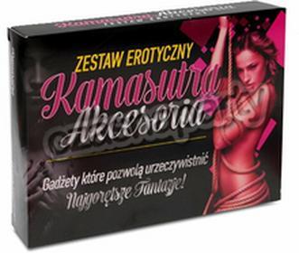 Zestaw erotyczny KAMASUTRA 1 kpl.