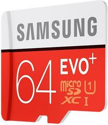 Samsung Evo 64GB + adapter