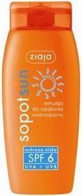Ziaja Sopot Sun emulsja do opalania wodoodporna SPF6+ 150ml