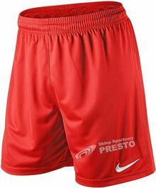 Nike Spodenki piłkarskie Park Knit - czerwony 448224657