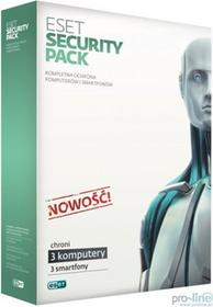 Eset Security Pack (3 stan. / 2 lata) - Nowa licencja