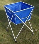 Opinie o POLSPORT Wózek Na Piłki - Składany, Aluminiowy