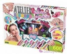 DROMADER BROKATOWE Kolorowe PAZNOKCIE Atelier Glamour 5900360008584