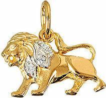 Tyfanit Złoty znak zodiaku - lew ZZ5