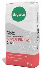 Megaron Gładź gipsowa biała Super Finisz 18kg 5900508043187