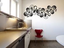 Naklej-to.pl Kwiatowa gałązka 13 Naklejka na ścianę