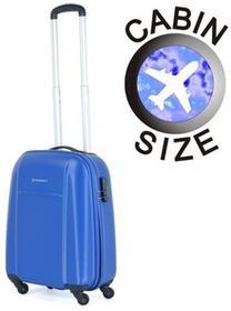 Puccini Mała walizka ABS02 C niebieska ABS02 C 7 niebieski