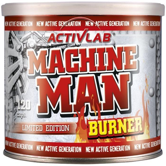 Activita Machine Man Burner 120 kaps.