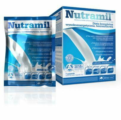 Olimp NUTRAMIL Dieta kompletna wysokoener getyczna bezresztkowa 7