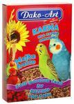 Dako-Art Majka Fructo Pełnowartościowy pokarm z owocami dla małych papug 500g