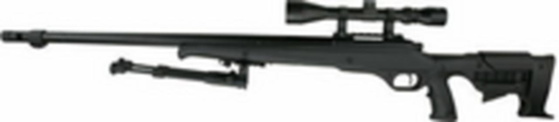 WELLReplika sprężynowa karabinu snajperskiego MB11D z lunetą i dwójnogiem