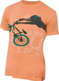 Kellys Koszulka T-shirt DIRT orange
