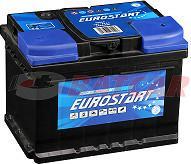 EUROSTART 12V 55Ah 540A (EN) L+