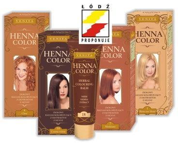 Venita Henna Color Tuba Ziołowy Balsam Koloryzujący 113 jasny brąz