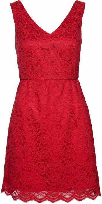 Jarlo MARILYN LACE DRESS Sukienka koktajlowa czerwony J3121C00J-302