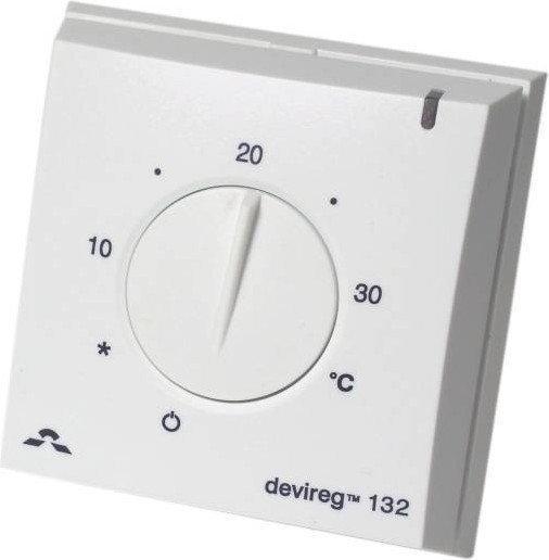Termostat Devireg 132 (natynkowy)