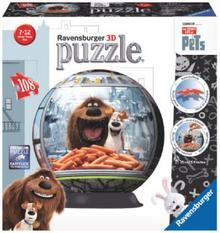Ravensburger Puzzle/kula 3D - The Secret Life of Pets 12216