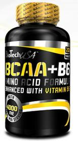 BioTech BCAA + B6 / 200 tabl.